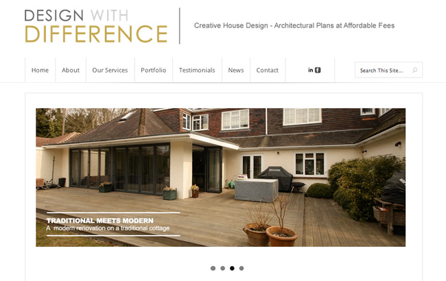 Design With Difference Website | Built by BourneFX