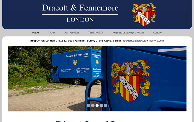 Dracott and Fennemore website